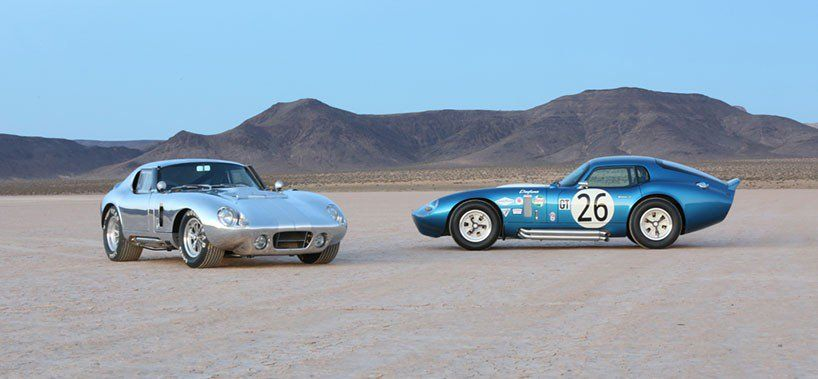 relive the golden years in the 50 anniversary shelby cobra daytona coupe #50anniversary