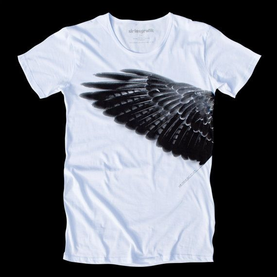 Mens Tshirts Wing Tee WE MAKE Our TRUTH Hand by SiriusGrafik ded0bf207