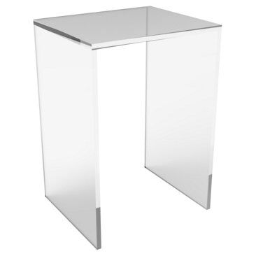 Check out this item at One Kings Lane! Brickell Acrylic Side Table, Clear