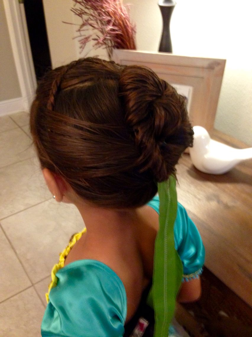 Ana hair for the fatherdaughter dance cute kids stuff pinterest