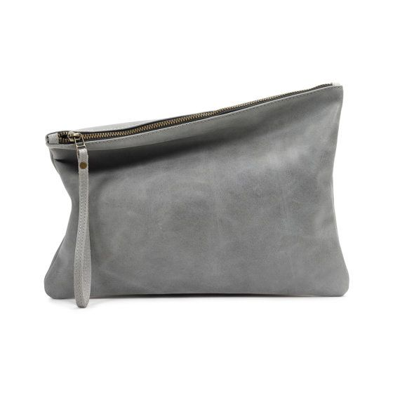 c0d82bed64df The AM PM Clutch in Grey I designed the AM PM Clutch to be perfect ...