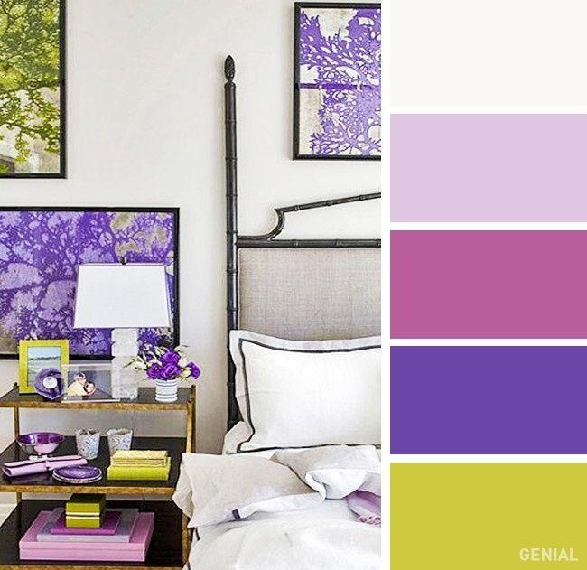 20 Perfectas combinaciones de colores para tu recámara Combinación