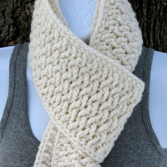 Crochet Pattern Pdf Weave Scarf Pattern By Seejanecrochet Around
