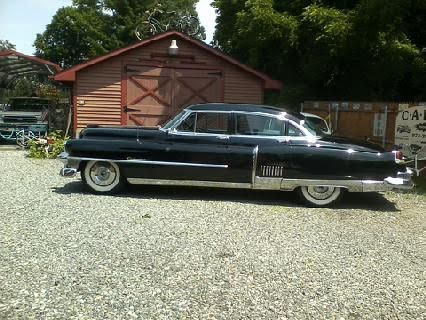 1953 cadillac fleetwood 60 series 4dr black w cloth for 1953 cadillac 4 door sedan