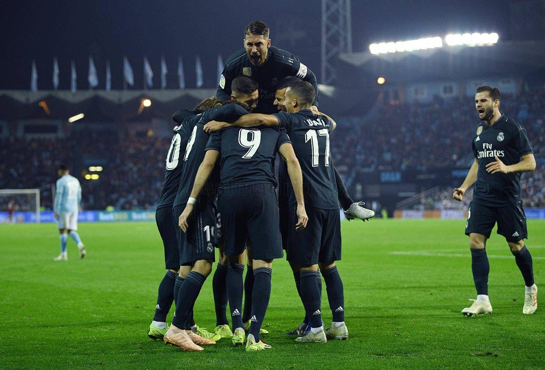 Real Madrid Cf Official Website Real Madrid Madrid Celta De Vigo