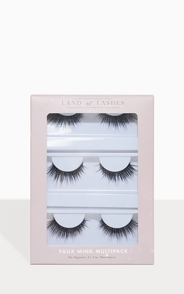 6949d53bbbc Land of Lashes Captivate Multipack in 2019 | Products | Fake ...