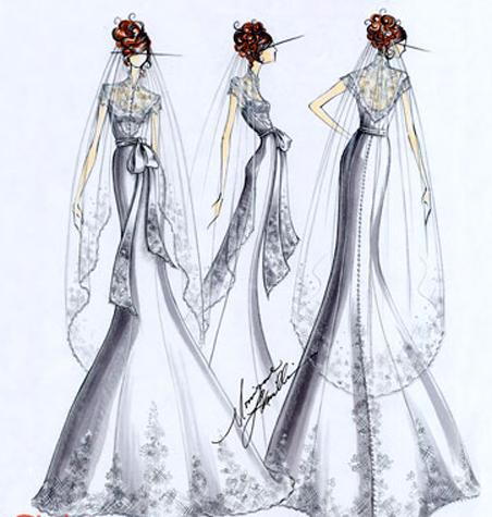 croqui white dress