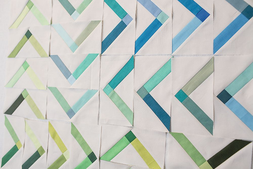 Modern Solids ~ Progress is part of Modern quilts, Quilts, Quilt patterns, Patchwork quilts, Quilt inspiration, Quilting designs - The month of September has been dedicated to my Denyse Schmidt Modern Solids challenge for Free Spirit Fabrics  I think I've put a little too