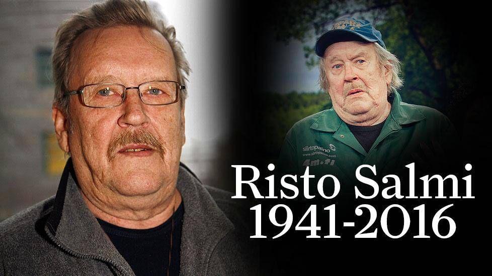 Muun muassa Raid-sarjasta ja TV2:n maalaiskomedioista tuttu näyttelijä Risto Salmi on kuollut leikkauksen jälkeiseen sydänkohtaukseen.
