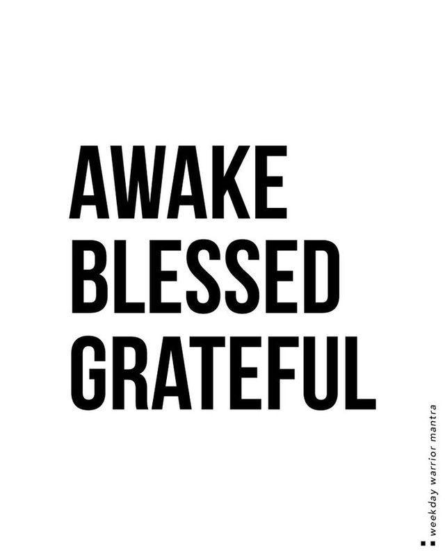 Blessings Monday Mornings