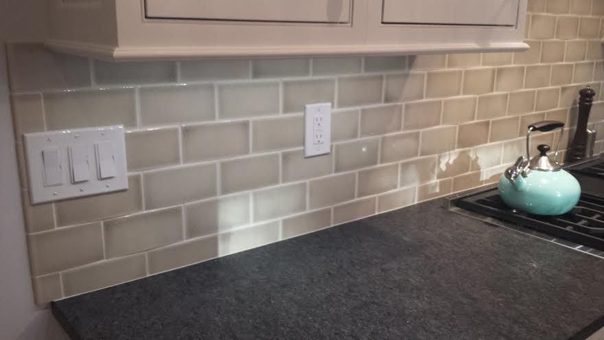 Our Backsplash Went In Yesterday Today And We Re In
