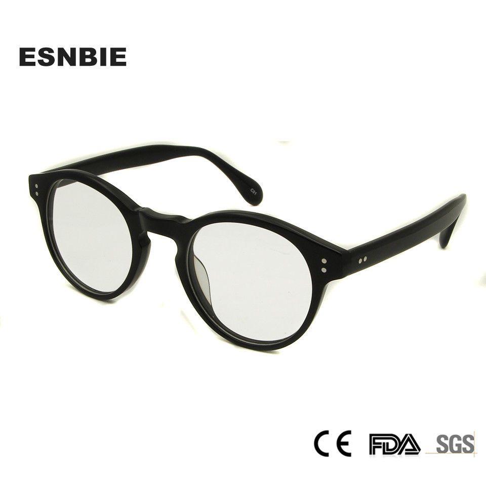 Designer New Clear Round Eyeglasses Optical Vintage Tortoise Blue ...
