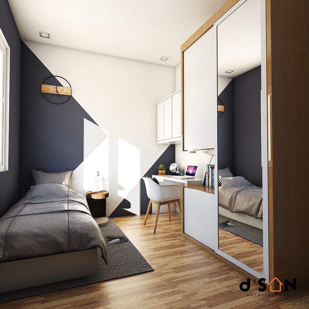 Pin Di Bedroom Minimalist bedroom design meters