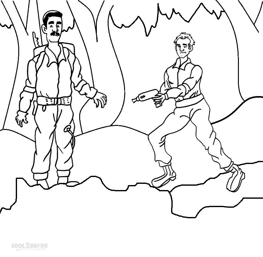 Printable Ghostbusters Coloring Pages For Kids | Cool2bKids ...