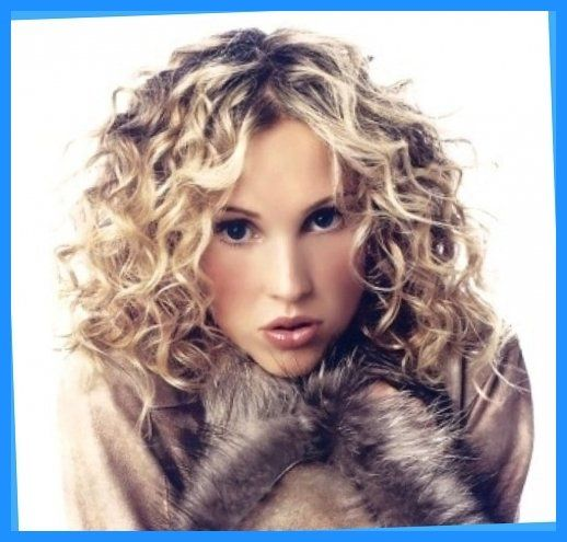 Spiral Perms For Medium Hair | Medium Hair Style With Perms Blonde ...