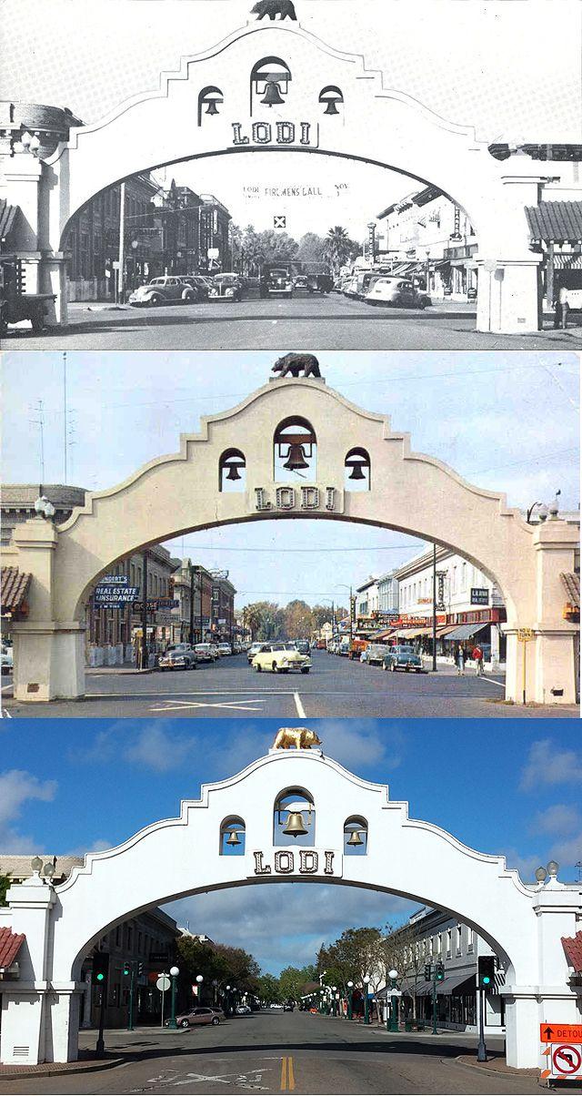 Lodi Mission Arch Lodi Ca Lodi Lodi California Arch
