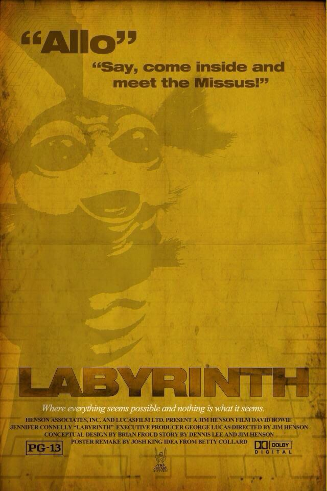 Labrynth poster reworked