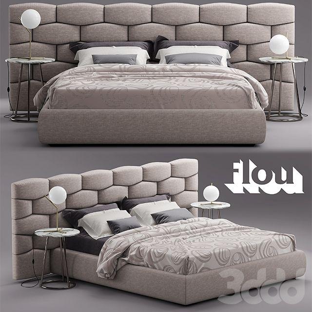 Кровать Flou MAJAL Bed | Bedroom design | Pinterest | Mobili di ...