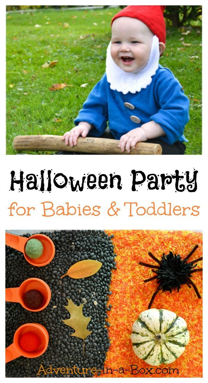 halloween party for babies and toddlers | halloween parties, babies