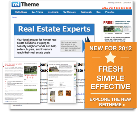 Real estate investor websites