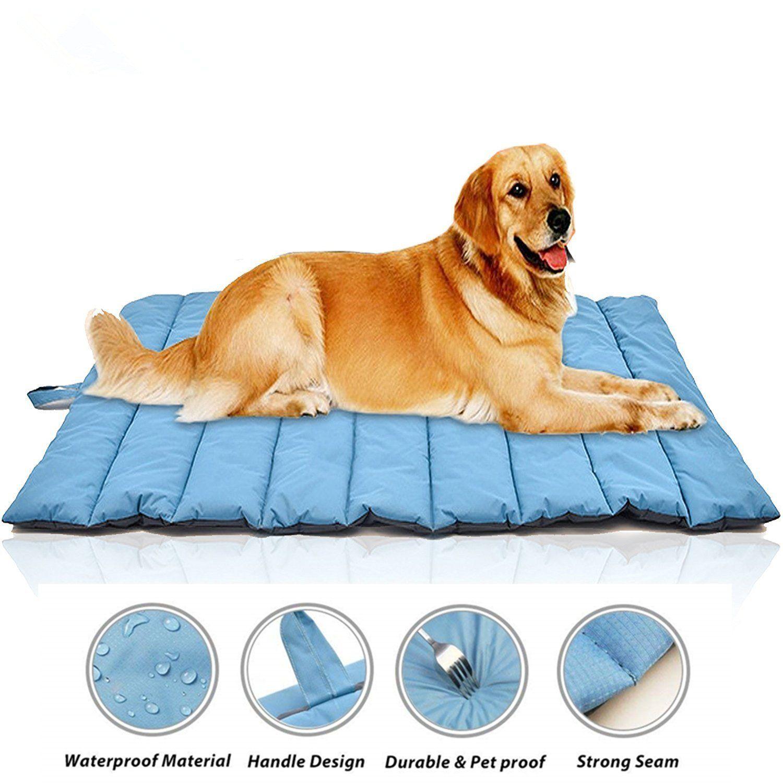 Gowild Oversize Cool Pets Bed Mat Waterproof Outdoor