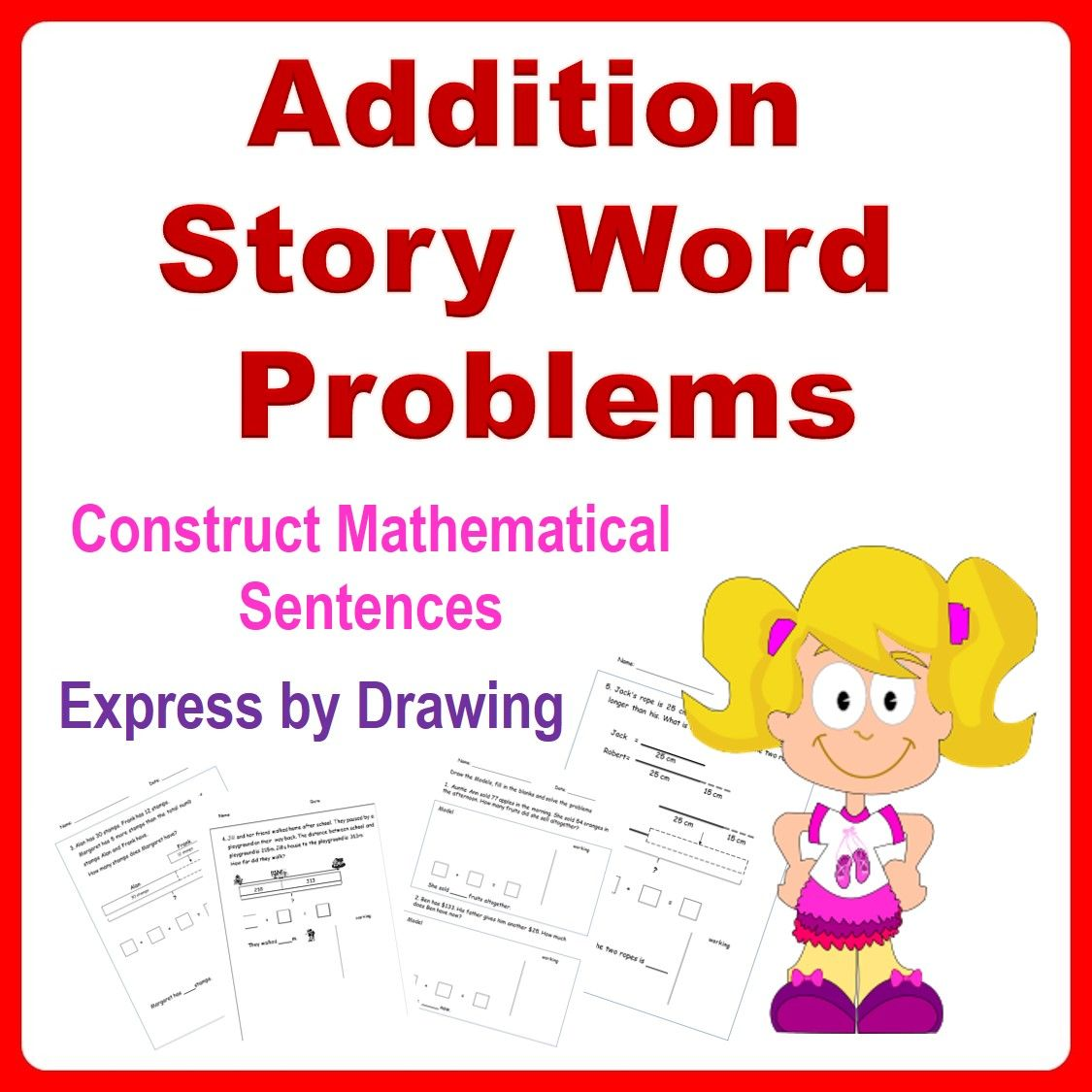 Addition Word Problems Bar Models