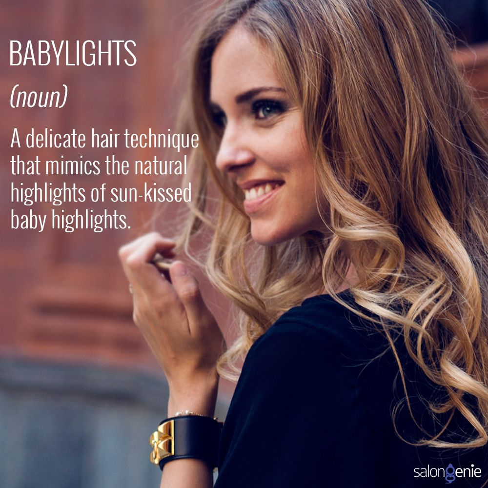 Baby Lights- The Hottest Hair Color In Town! Talking Of