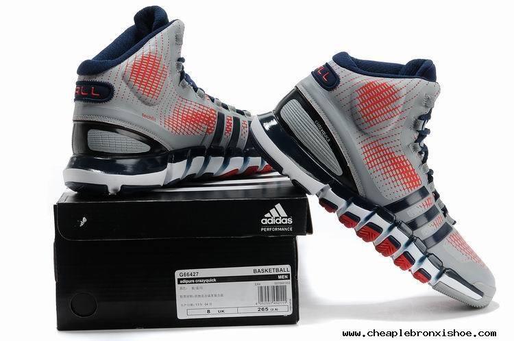 wholesale dealer 9e5e2 ea127 Adidas adiPure Crazyquick Pure Platinum Sport Red John Wall PE Cheap