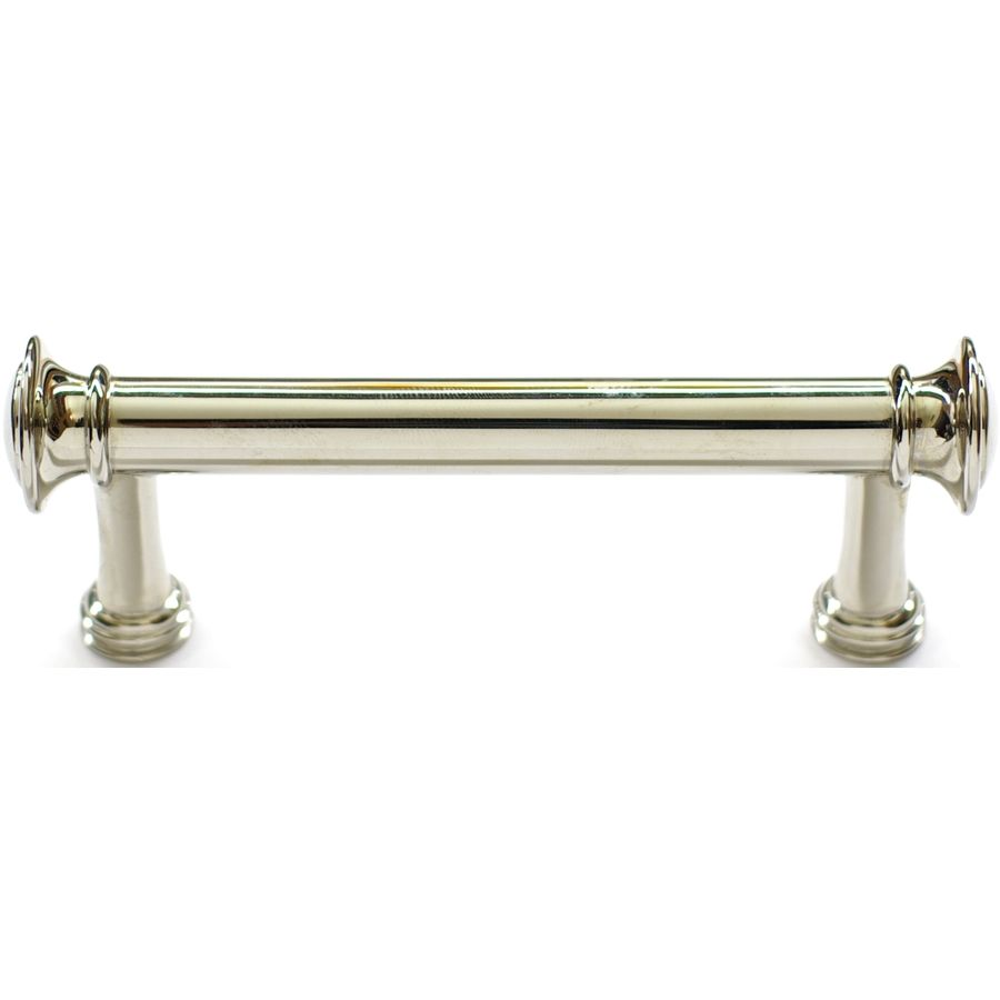 Shop allen + roth 3-in Center-to-Center Polished Nickel Bar Cabinet ...