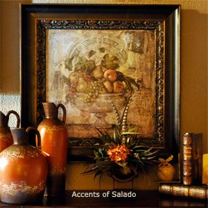 Old World Country Decor | French Country And Spanish Hacienda Style  Decorating. Rustic Old World
