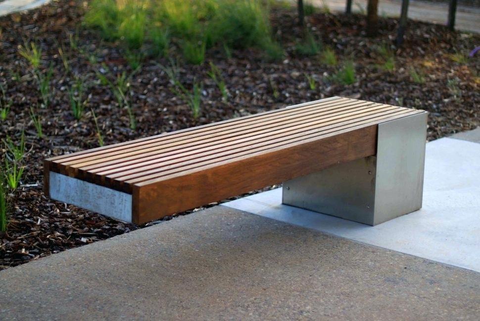 Beau Bench Metal Dining Bench Concrete Garden Bench Modern Outdoor Concrete Garden  Bench Dining Bench Concrete Garden