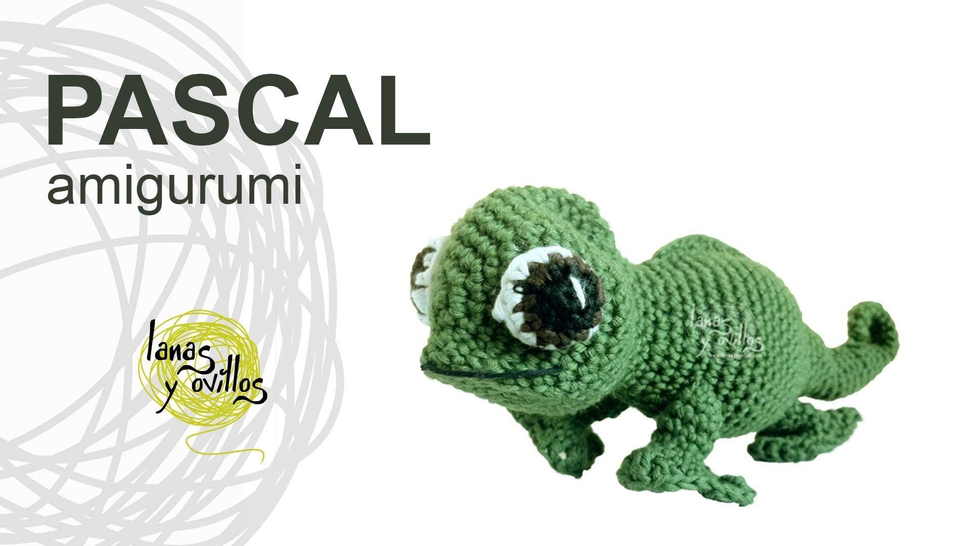 Tutorial Camaleón Amigurumi Chameleon (english subtitles ...