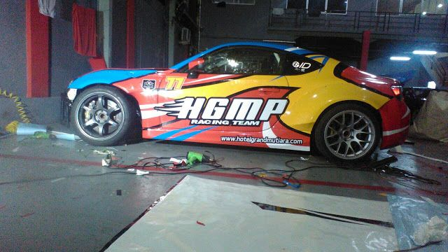 Portals sticker toyota 86 hgmp racing team