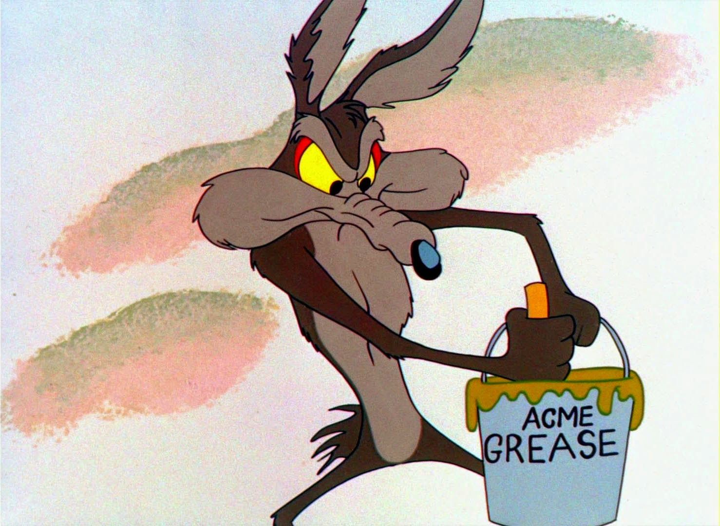 Looney Tunes Pictures: Wile E. Coyote Guided Muscle | Bugs ...