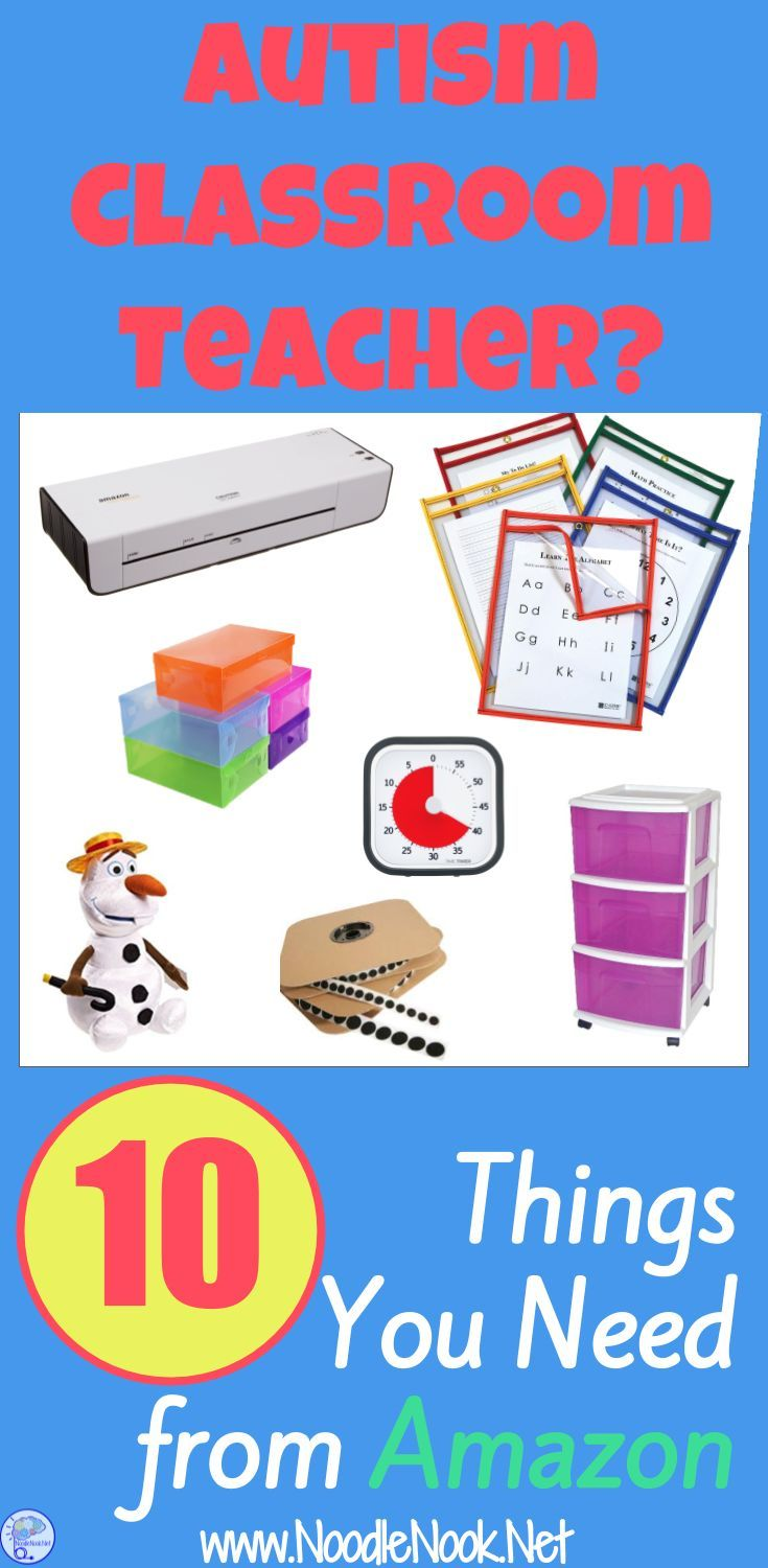Autism Classroom Setup 10 Must Haves from Amazon is part of Classroom Organization Autism - Autism Classroom Setup These are the 10 things every Autism Classroom Teacher Needs from Amazon  Yeah, you'll love number 11!