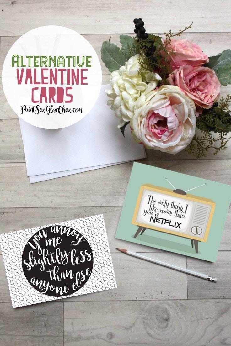 Alternative Valentine Cards – Free Download