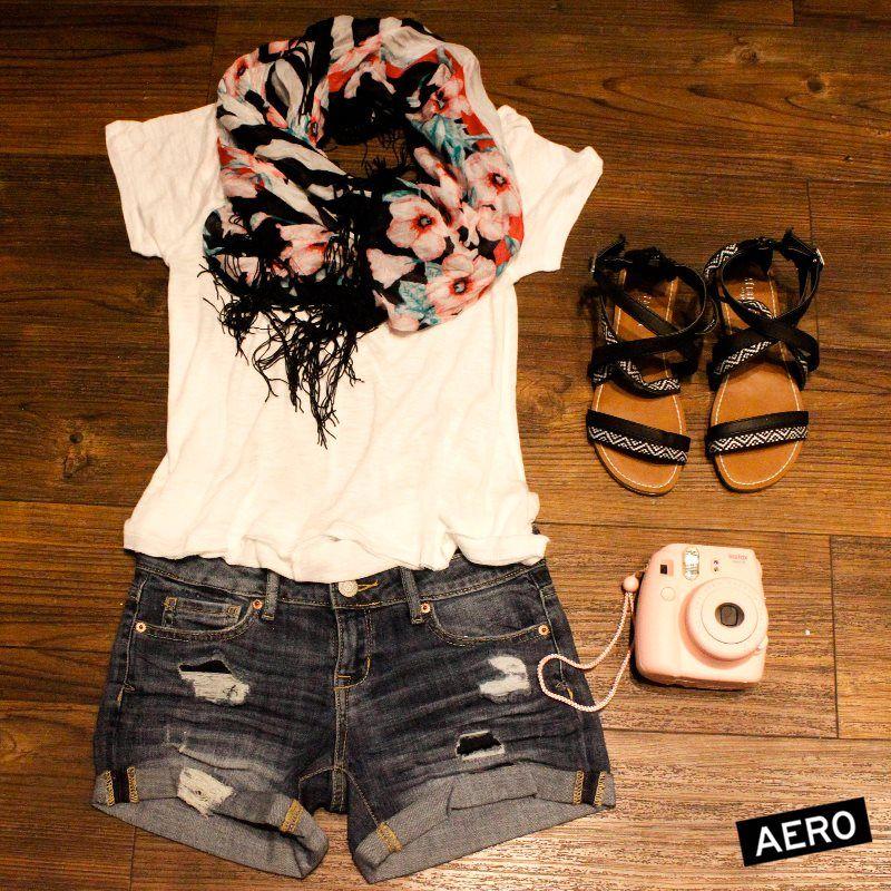 #Look #aero <3 Short y sandalias