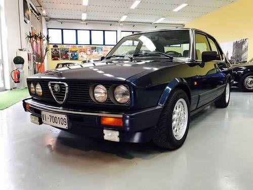 Alfa Romeo Alfetta Quadrifoglio Oro Asi For Sale 1984