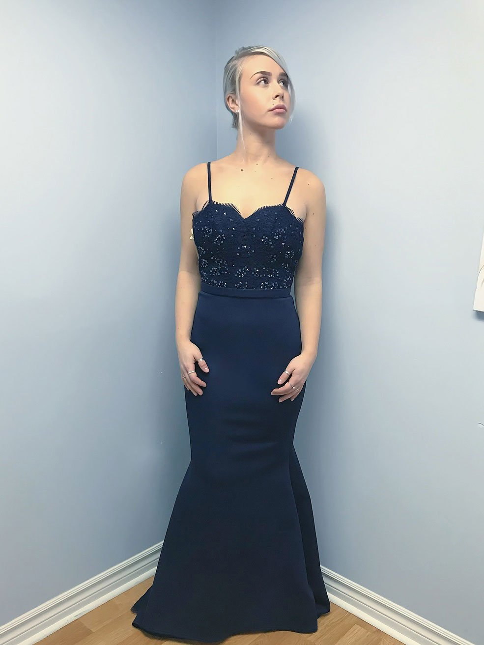 Magnificent Navy Blue Party Dress Gift - All Wedding Dresses ...