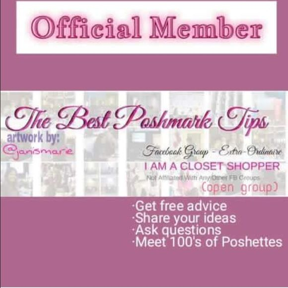 www.facebook.com/groups/bestposhmarktips The best group of Poshettes you'll ever find! Accessories