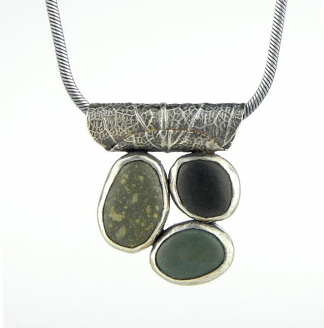 Candyce Westfield- Beach stone and Metal Jewelry- Walker MN
