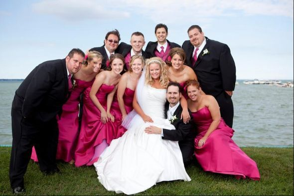 Pictures Of Pink Black Weddings Google Search