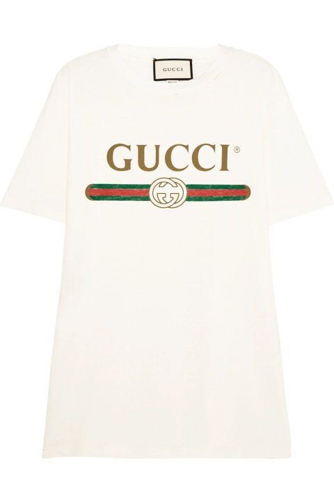 La camiseta de nuestros deseos es de Gucci y cuesta 390 €. c3a7170a1bd