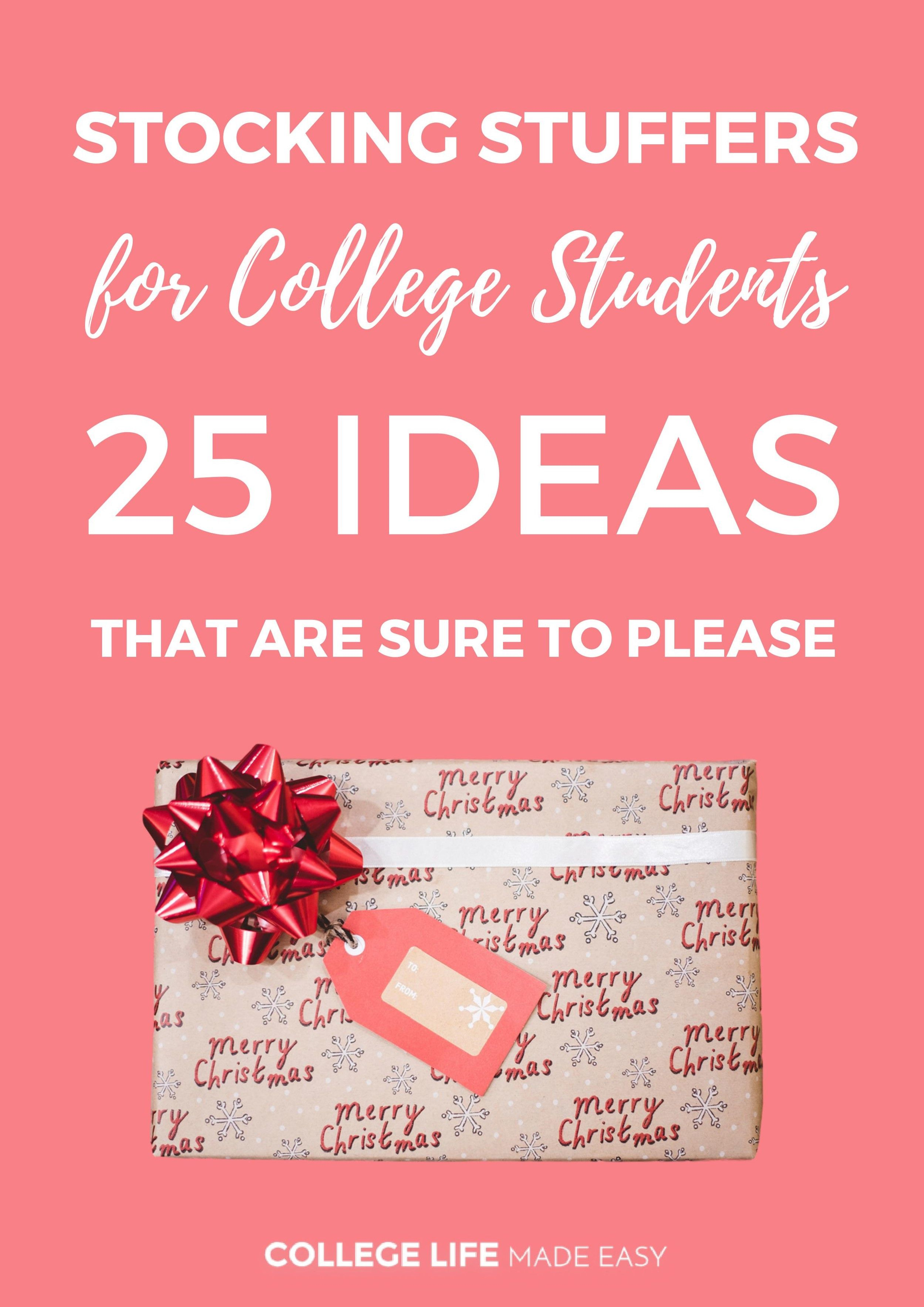 19 Amazing Stocking Stuffers For Teens College Students Ideas
