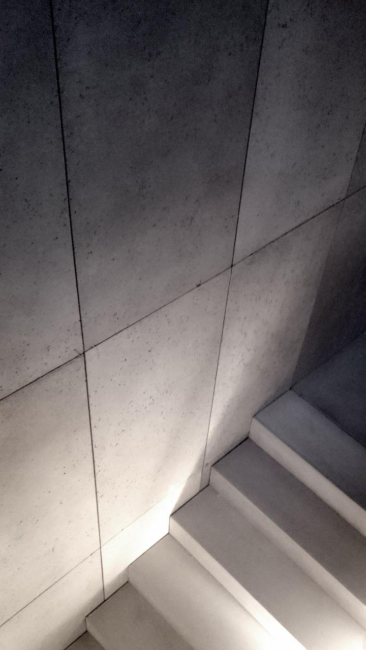 Architectural Concrete Precast Steps And Concrete Wall