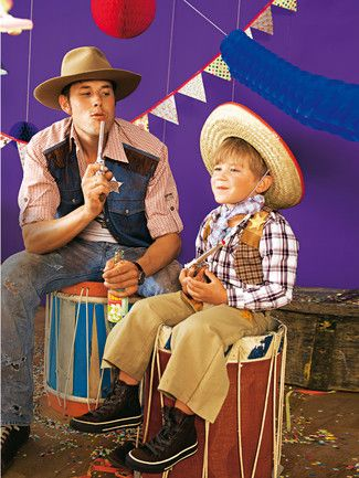 burda style, Schnittmuster für Fasching - Lässige Cowboy-Hose mit ...