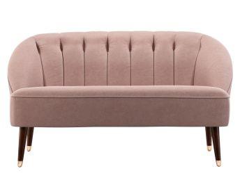 Kooper 2 Sitzer Sofa Samt In Zartrosa In 2020 2 Sitzer Sofa Sofa Modernes Rustikales Wohnzimmer