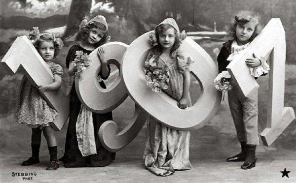 Resultado de imagen para Vintage new year