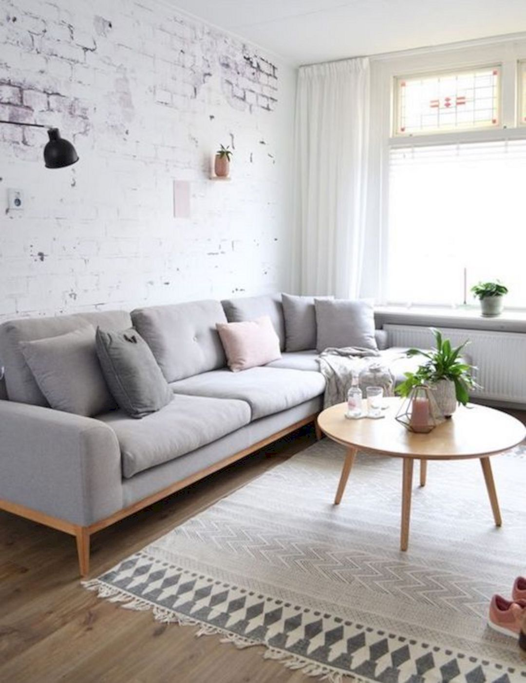 47 beautiful nordic living room design ideas you should for Decoracion hogar living