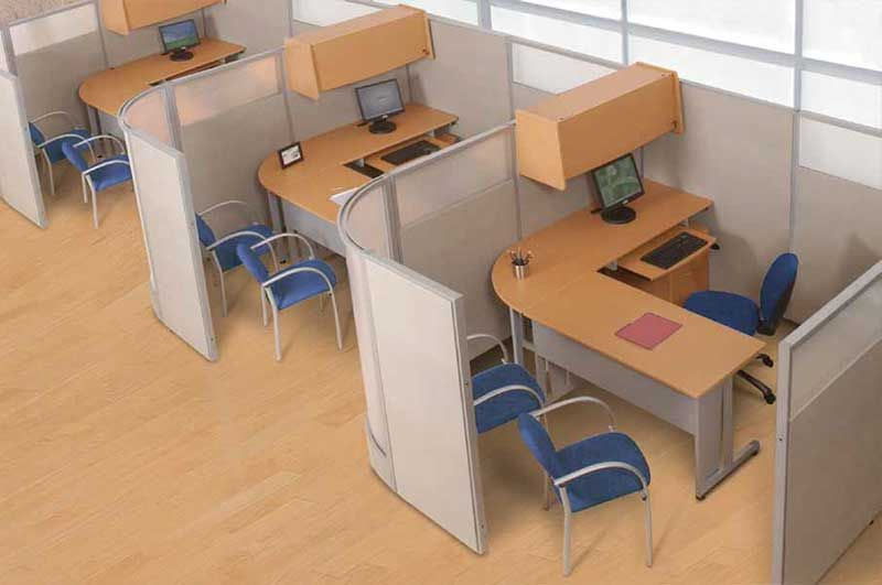 Cubicles workstations desks credenzas office chairs and more officemakers carries full lines from many office furniture and cubicle manufacturers